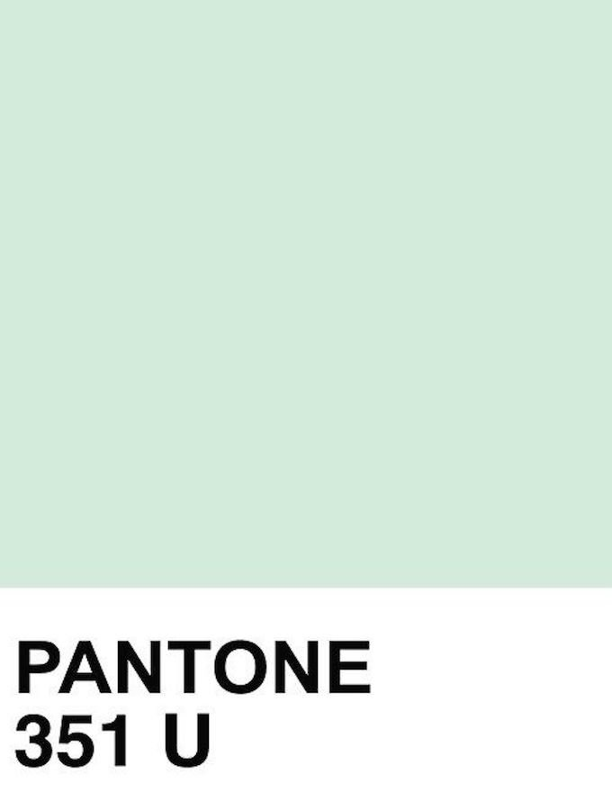 décoration vert céladon couleur pantone verte - blog déco - clem around the corner