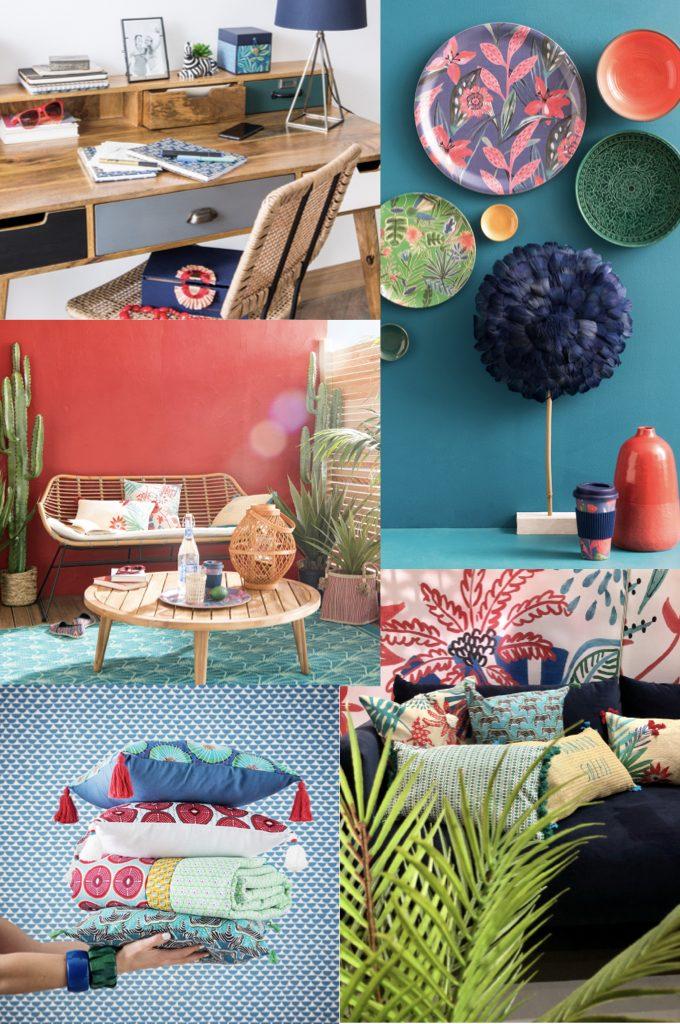 wax style afrique nouveau catalogue Maisons du Monde 2019 - blog déco - clem around the corner