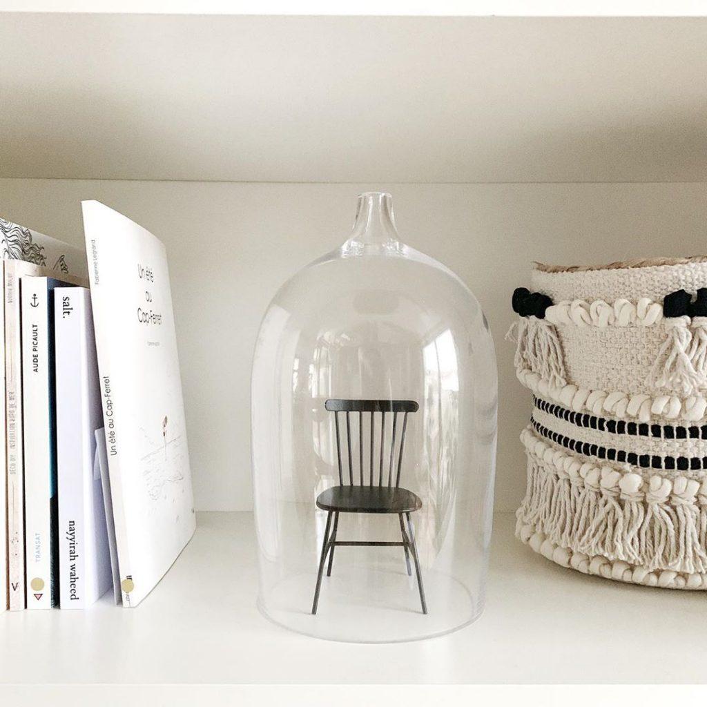 pierre papier ciseaux cloche chaise design - blog déco - clem around the corner