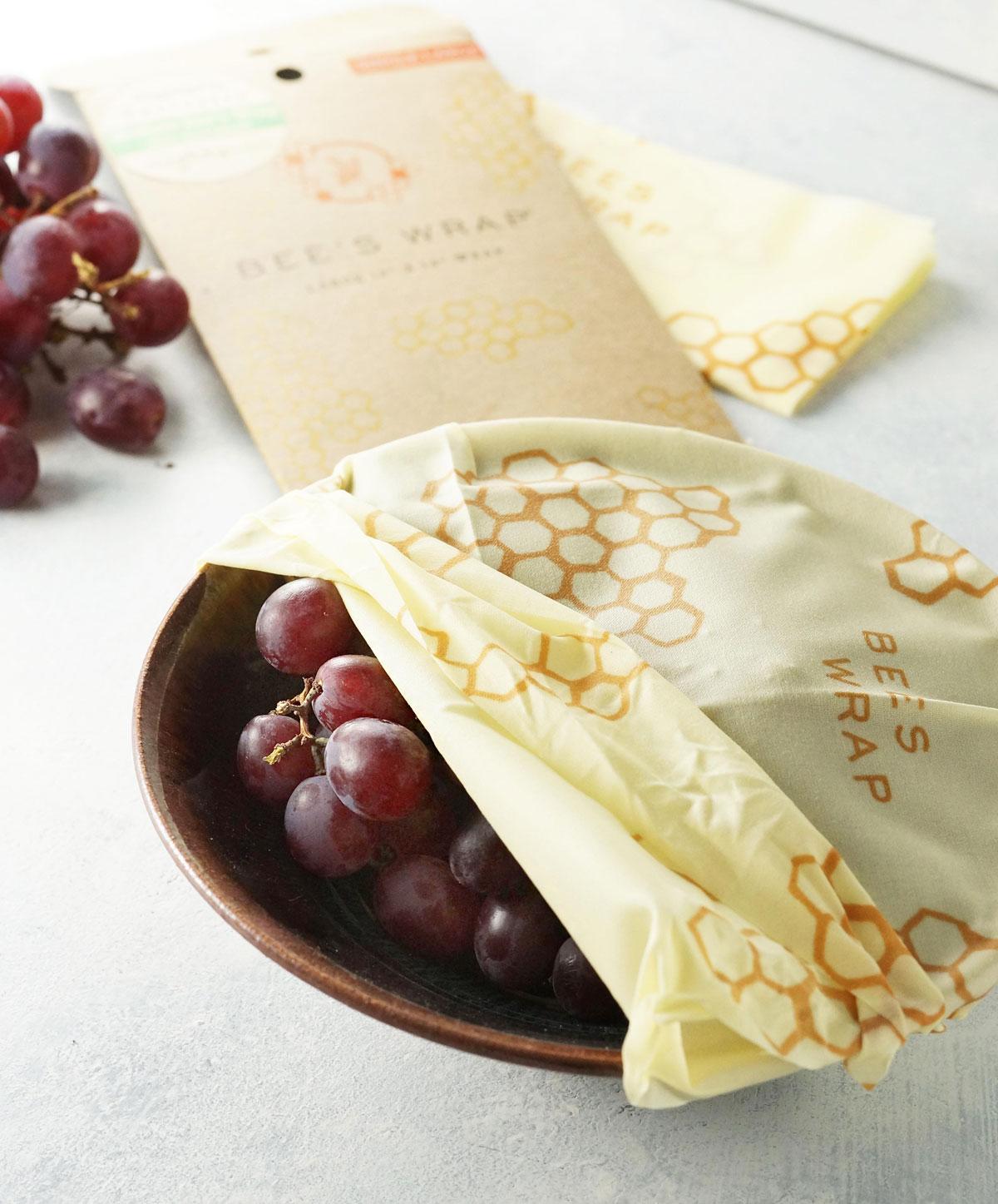 zéro déchet emballage alimentaire bee wrap cire abeille huile jojoba coton - blog déco - clem around the corner