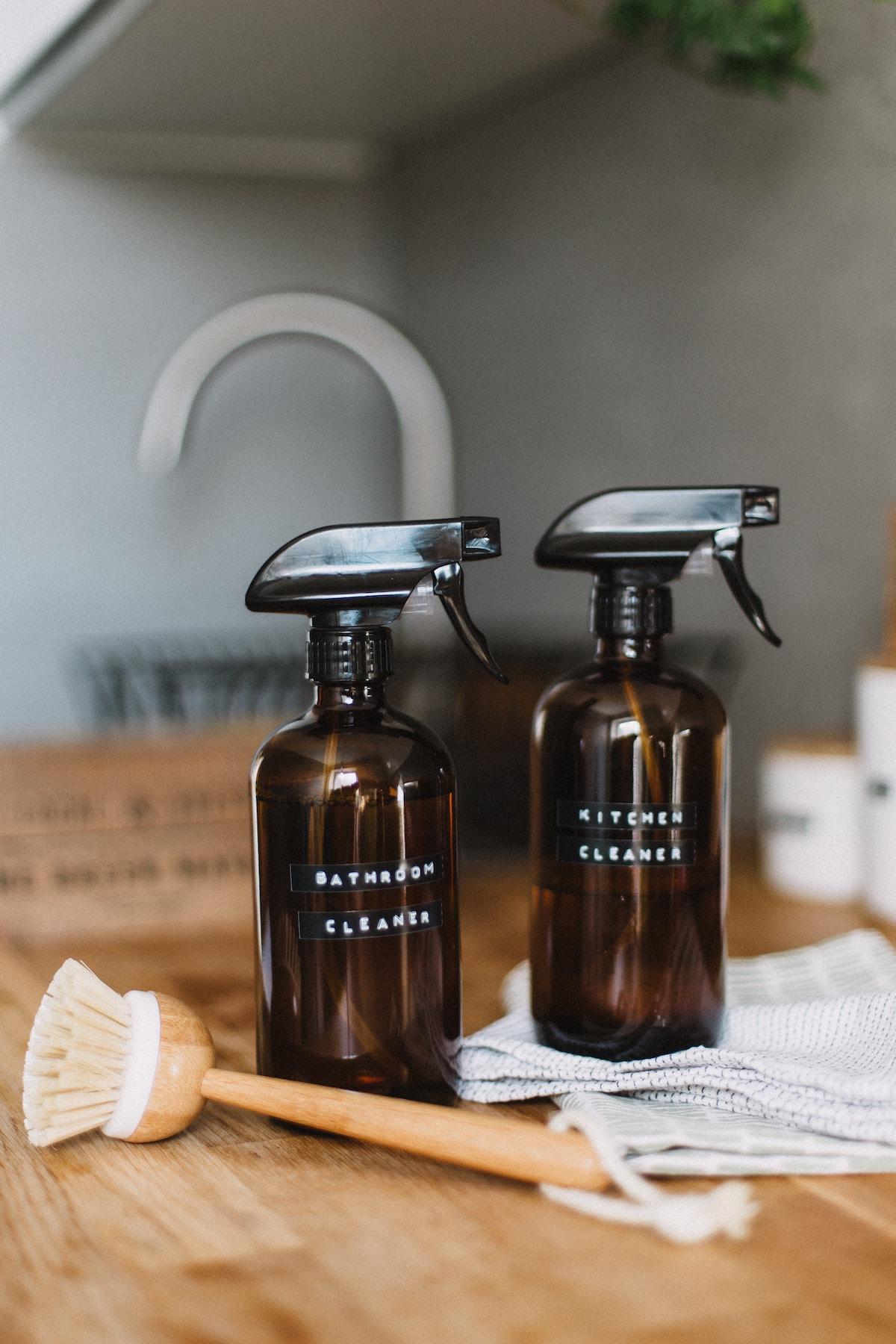zéro déchet recette produit ménage cuisine liquide vaisselle - blog déco - clem around the corner