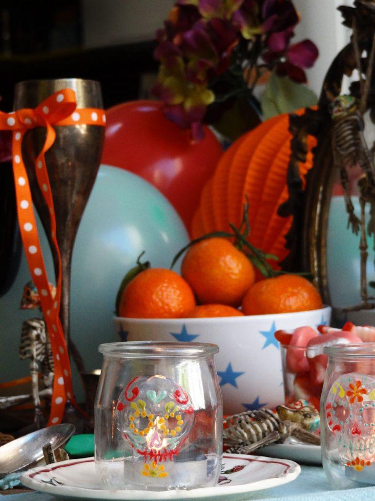 déco diy halloween facile goûter couleurs - blog déco - clem around the corner