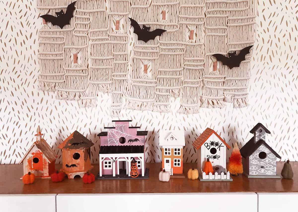déco diy halloween facile craft village terreur décoration - blog déco - clem around the corner