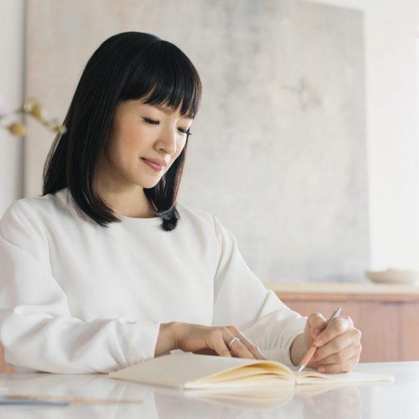 méthode de rangement marie kondo pliage boîtes - blog déco - clem around the corner
