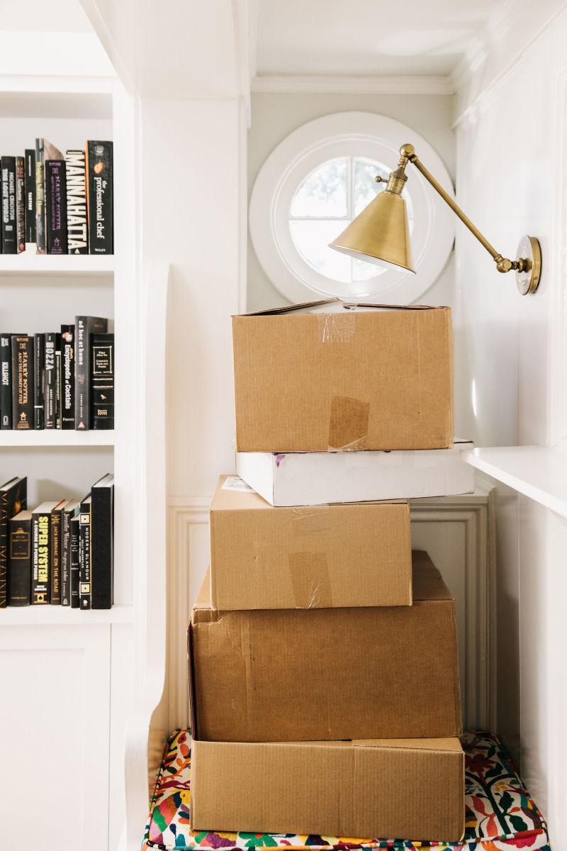méthode de rangement marie kondo cartons maisons livre - blog déco - clem around the corner