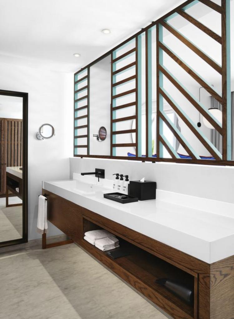 salt of palmar salle de bain cloison ajourée - blog déco - clem around the corner
