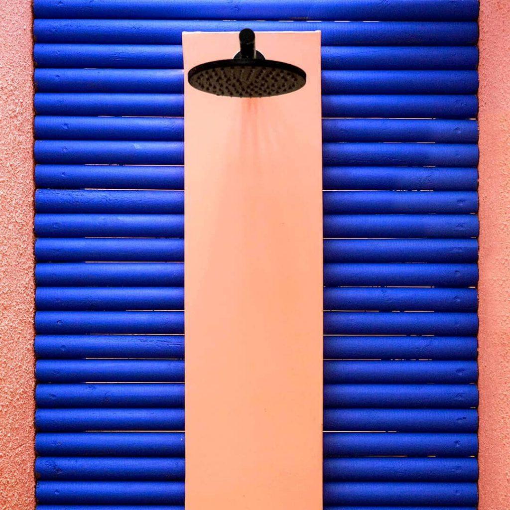 salt of palmar douche extérieure - blog déco - clem around the corner