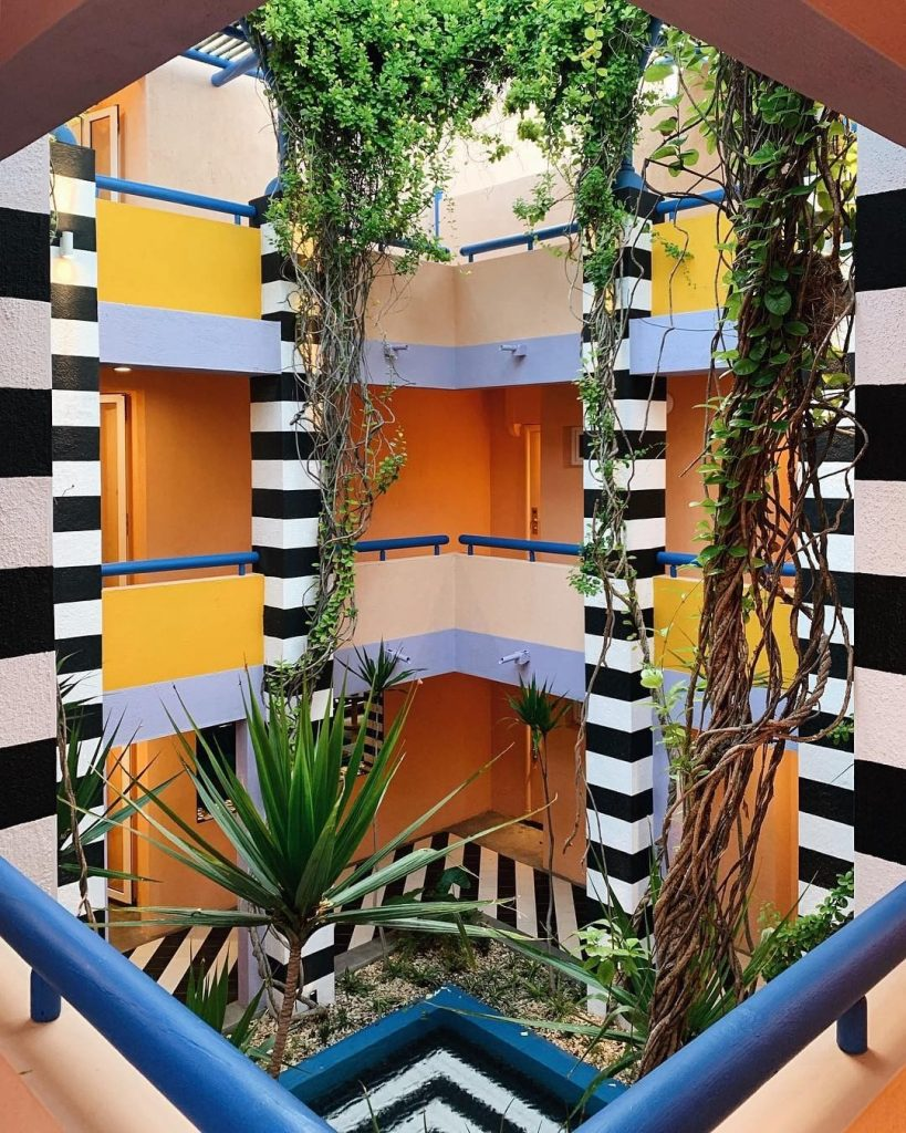salt of palmar intérieur cour étages - blog déco - clem around the corner