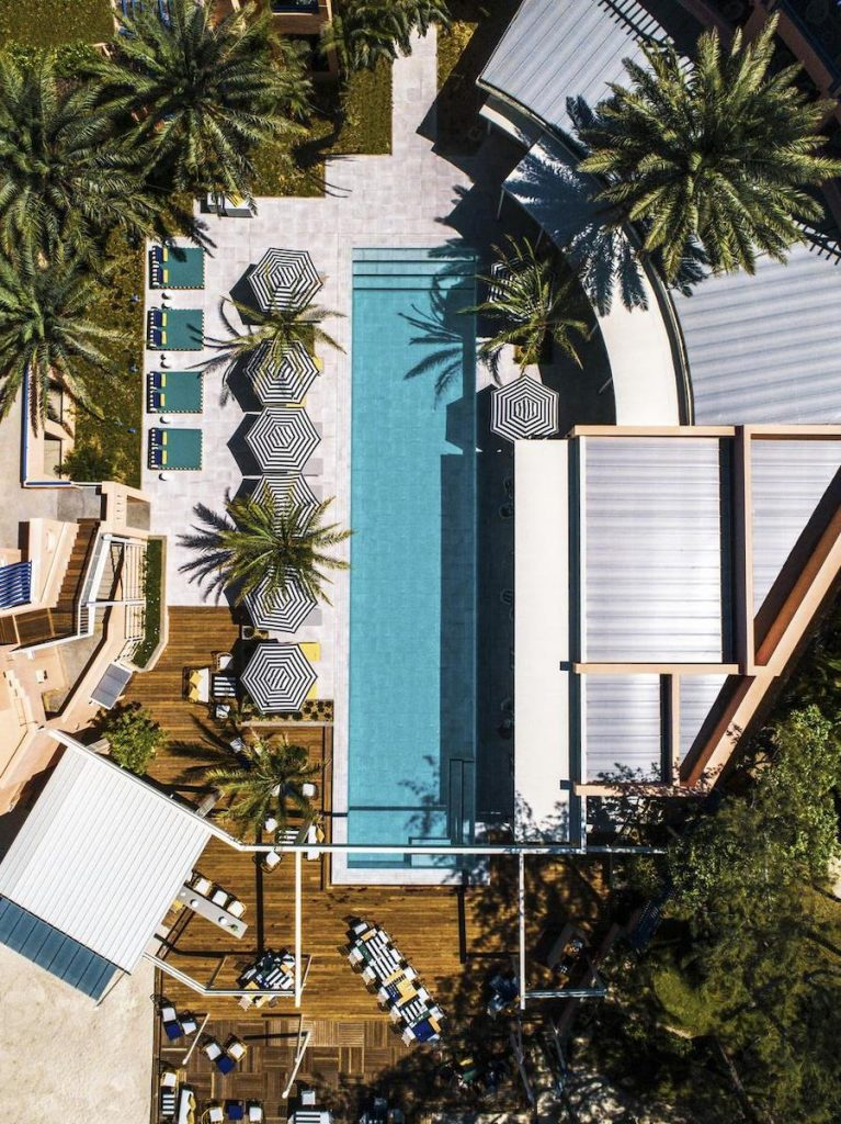 salt of palmar hotel memphis vue aérienne - blog déco - clem around the corner
