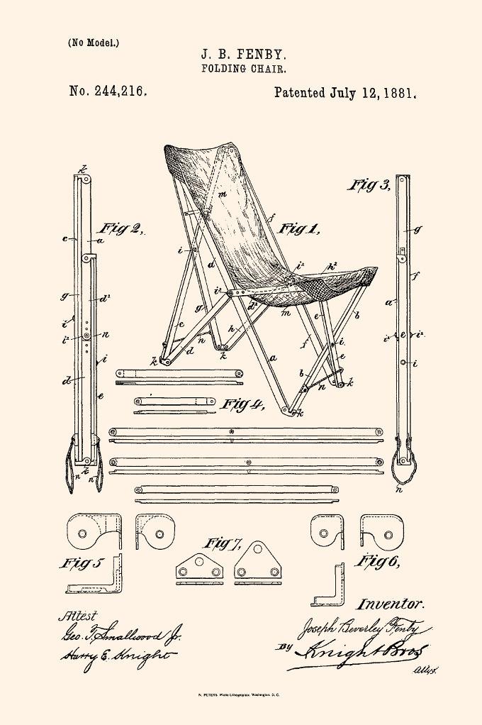 fauteuil butterfly fauteuil mythique schéma dessin confection - blog déco - clem around the corner