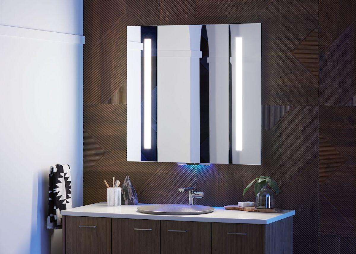 salle de bain connectée miroir intelligent - blog déco - clem around the corner