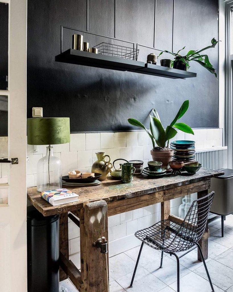 style éclectique bohème chic noir et blanc - blog déco - clem around the corner