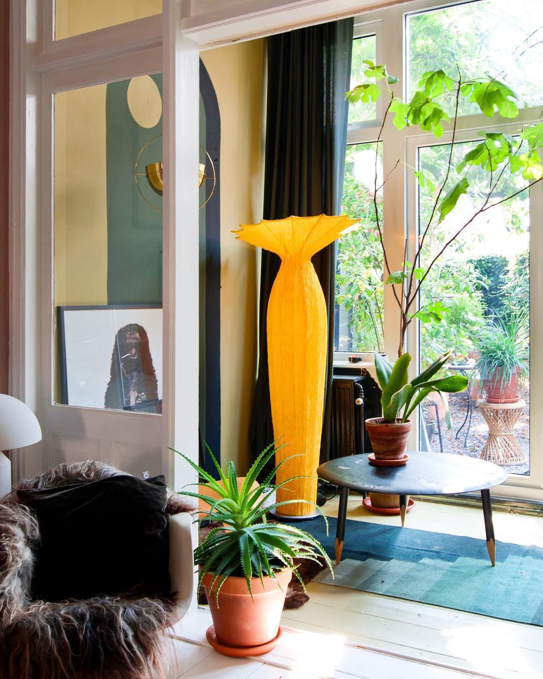 Théo-Bert Pot comment aménager une véranda espace arty retro jungle