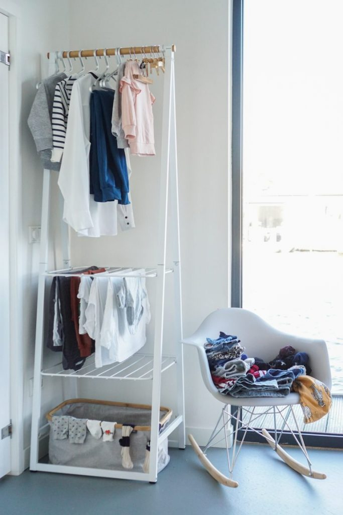 étendre son linge avec style tancarville chic scandinave - blog déco - clem around the corner