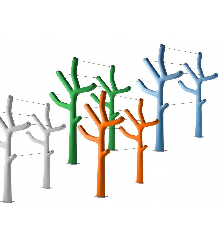 extérieur design étendoir à vetements casamania arbre - blog déco - clem around the corner