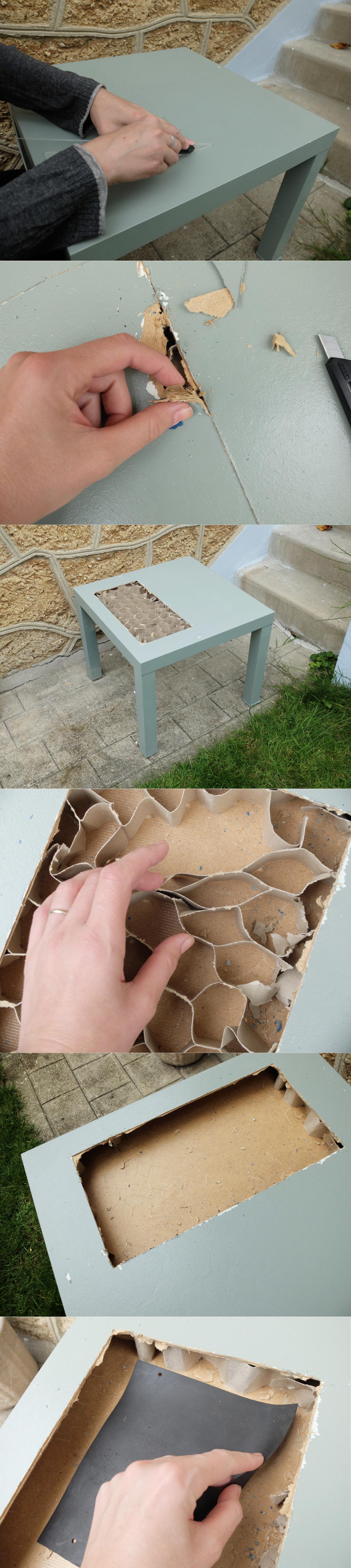 Fabriquer soi-même un table jardiniere pas chère