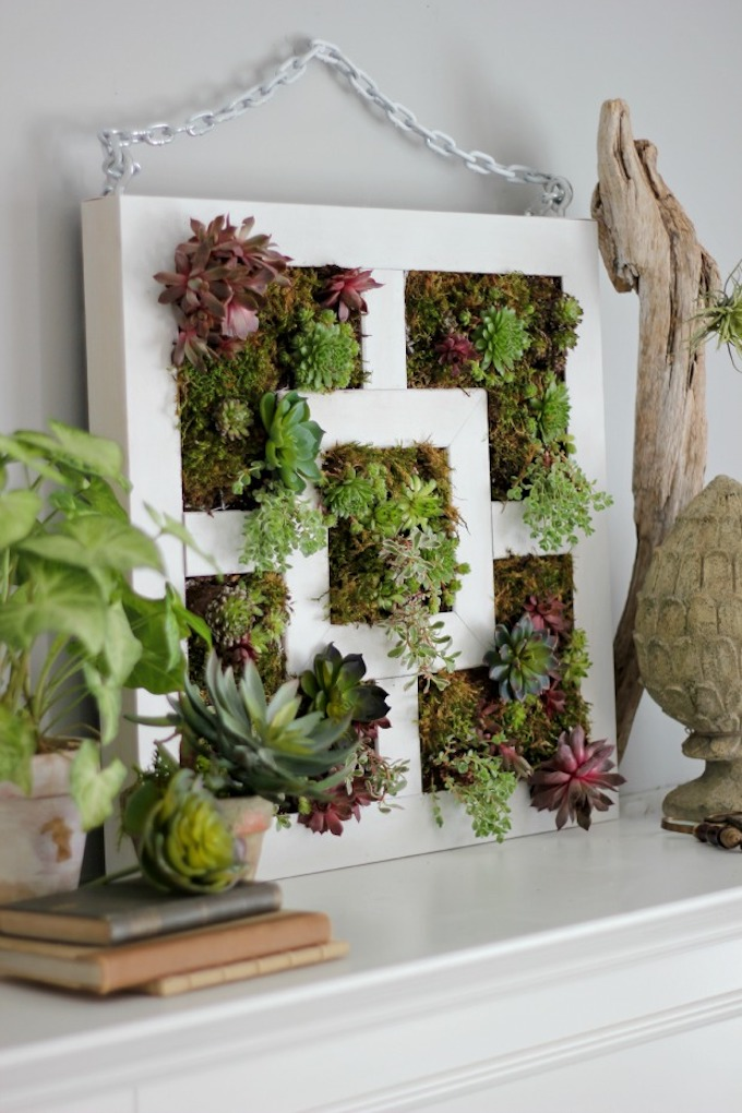 lack ikea hack jardin vertical plantes vertes recyclage - blog déco - clem around the corner