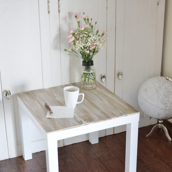 lack ikea hack table basse bois blanc ambiance bohème - blog déco - clem around the corner