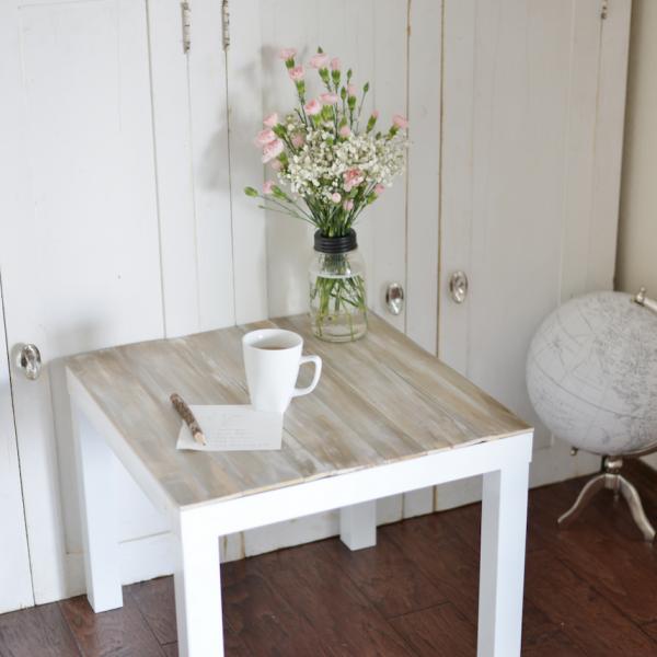 lack ikea hack table basse bois blanc ambiance bohème - blog déco - clem around the corner