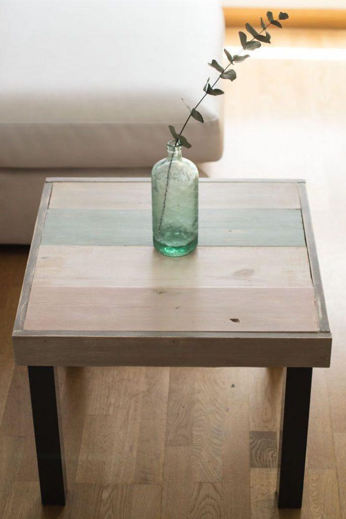 lack ikea hack table salon bohème eucalyptus - blog déco - clem around the corner