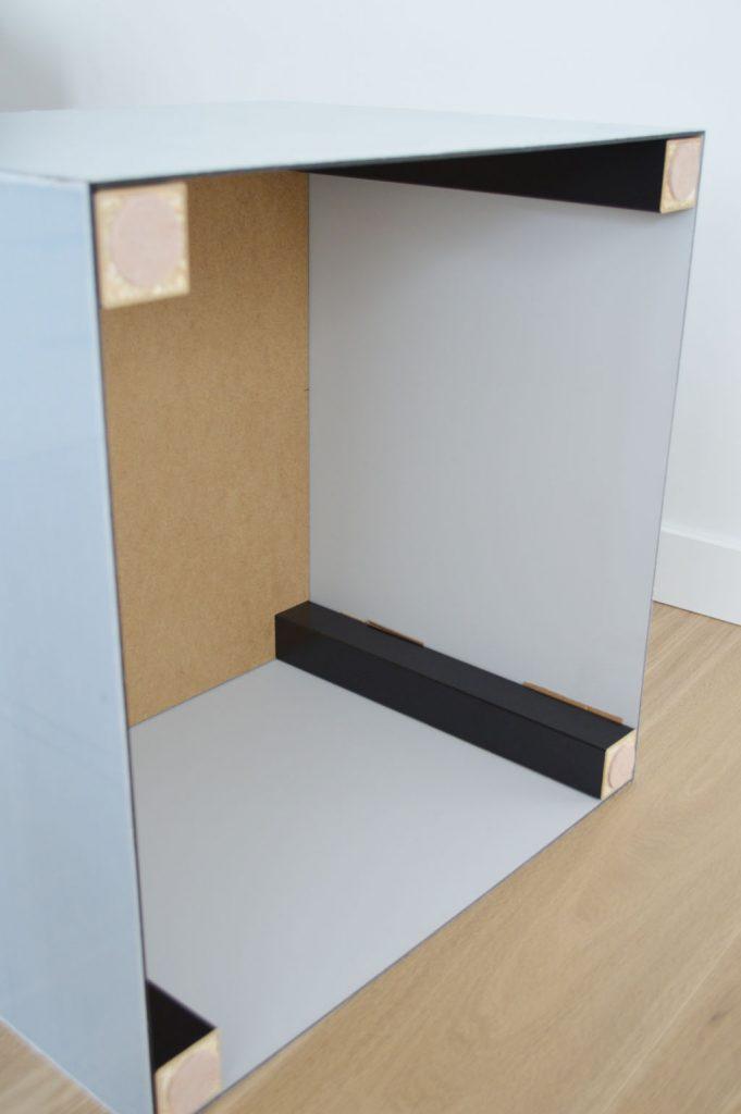 lack ikea hack table basse plexiglas idée originale pieds diy - blog déco - clem around the corner
