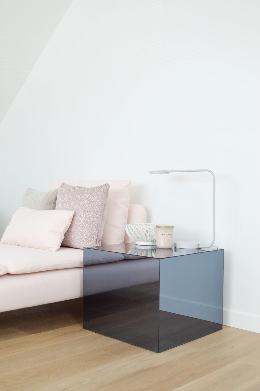 lack ikea hack table miroir plexiglas diy design - blog déco - clem around the corner