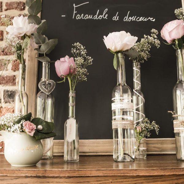 idée déco récup vintage fleurs - blog déco - clem around the corner