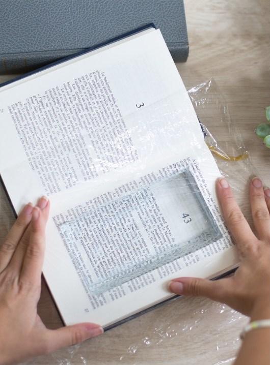 idée déco récup livre plastique - blog déco - clem around the corner