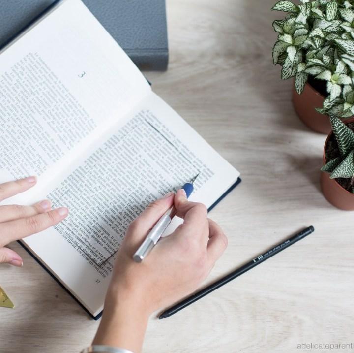 idée déco récup cutter livre bricolage - blog déco - clem around the corner