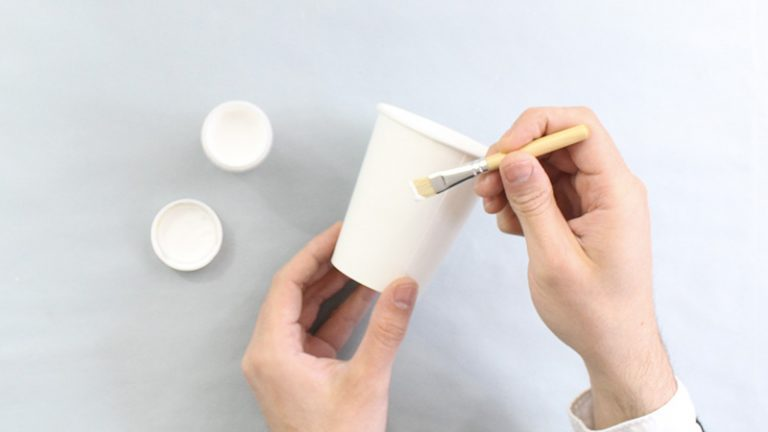 idée déco récup bricolage colle gobelet - blog déco - clem around the corner