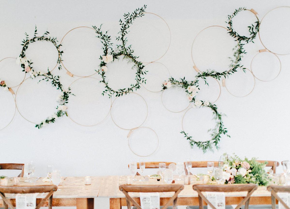 table de mariage festif rustique champetre - blog déco clem around the corner