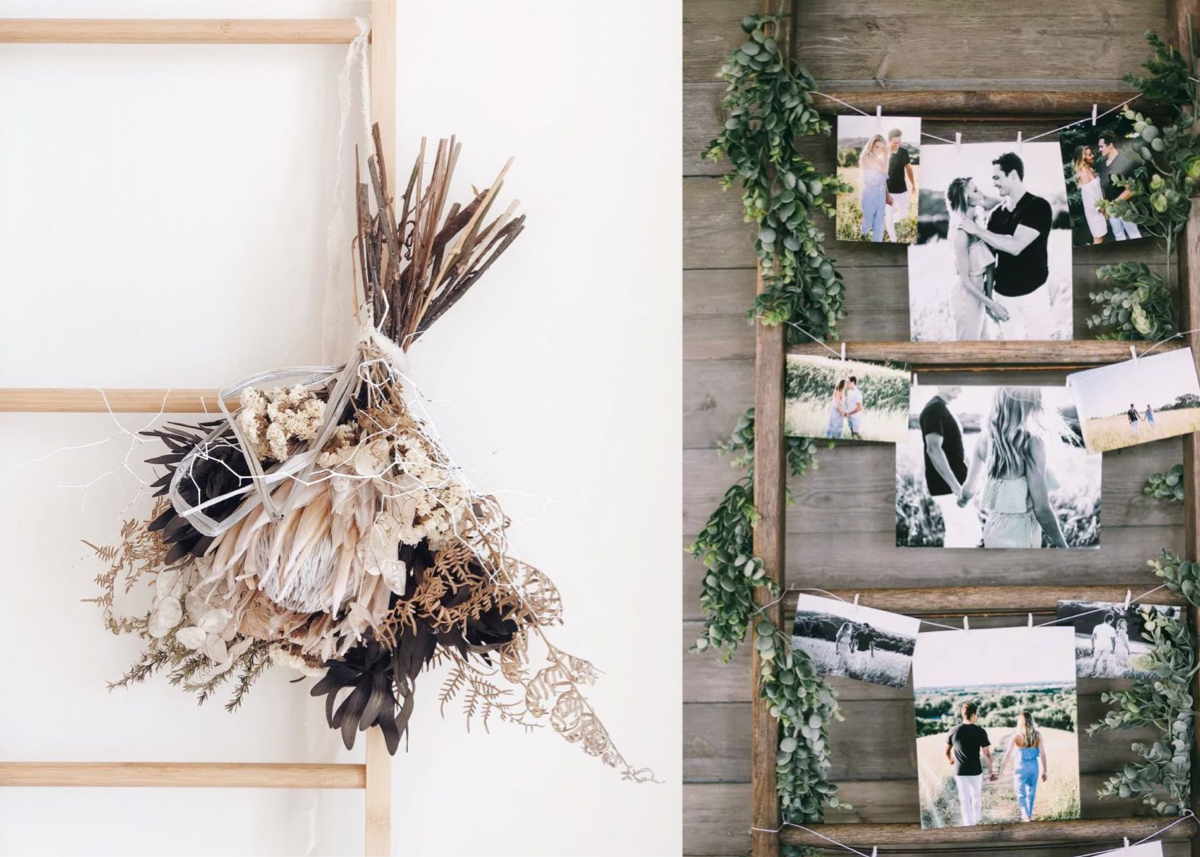 Faire Un Mur De Photos Décoration déco murale mariage : 10 idées pour son lieu - clem around