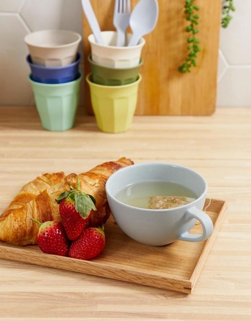 tasse ronde bleu pastel style scandinave déco cuisine clemaroundthecorner