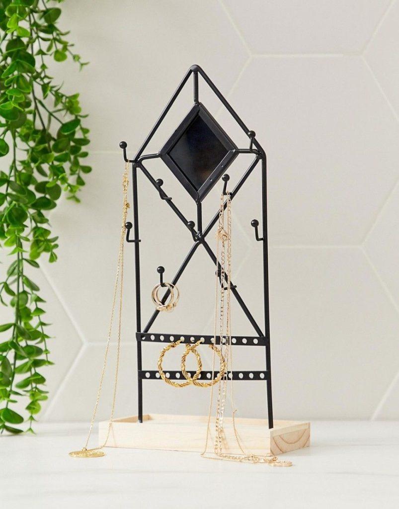 asos déco supply avis qualité porte bijoux métal noir déco tendance blog clemaroundthecorner