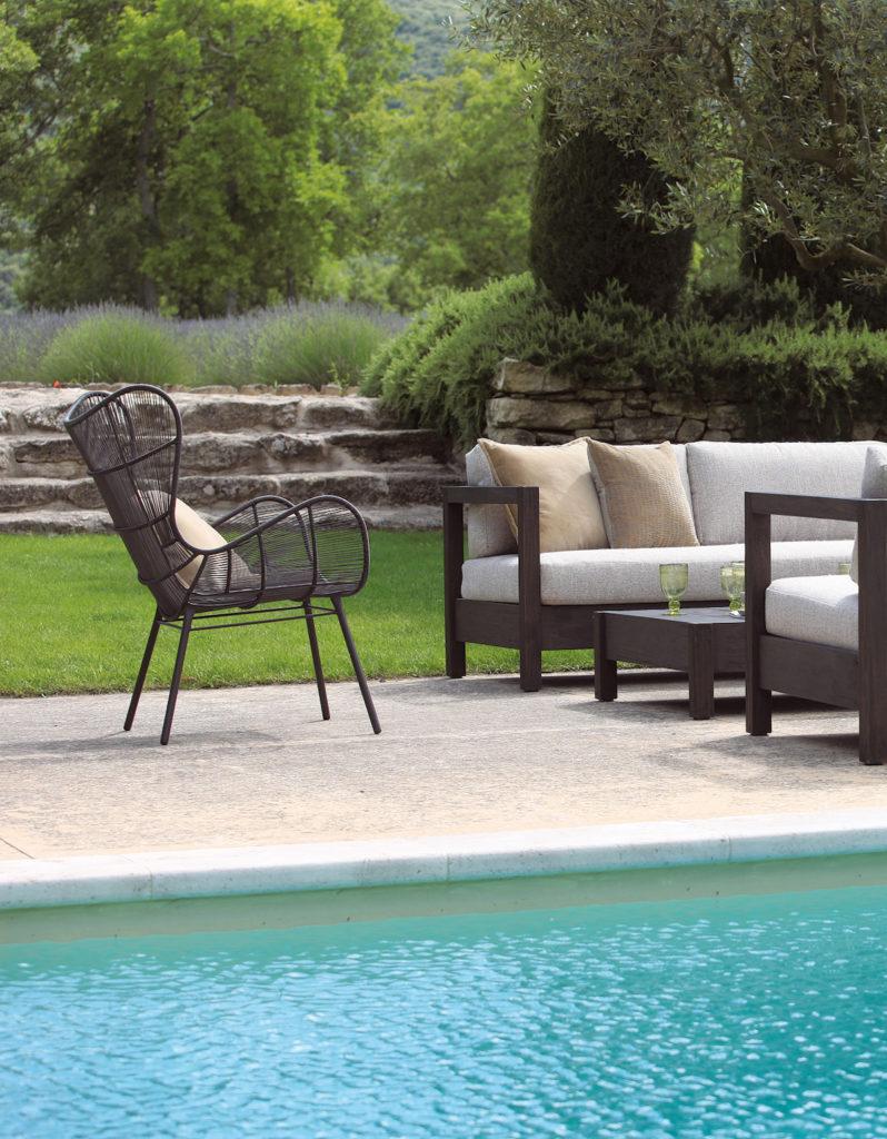 sifas salon extérieur bord de piscine jardin - blog déco - clem around the corner