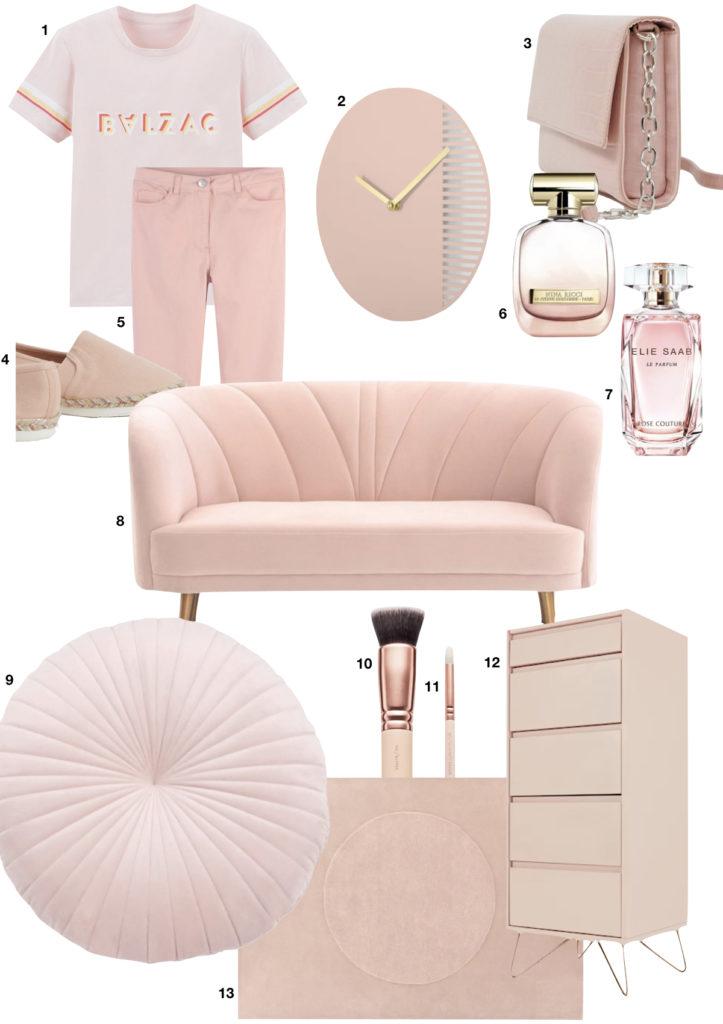 idée cadeau pink parfum velours espadrille clem around the corner
