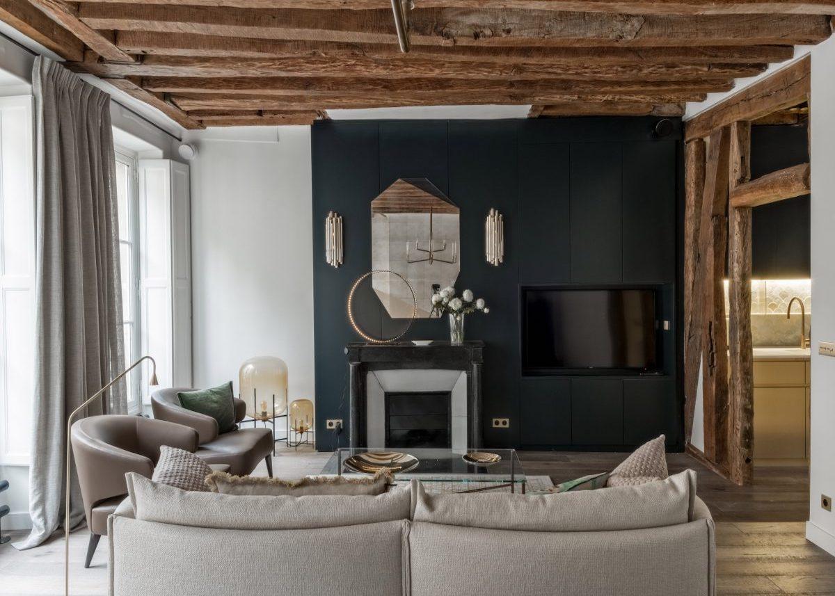 Visite déco appartement parisien de 200m20 - Clem Around The Corner