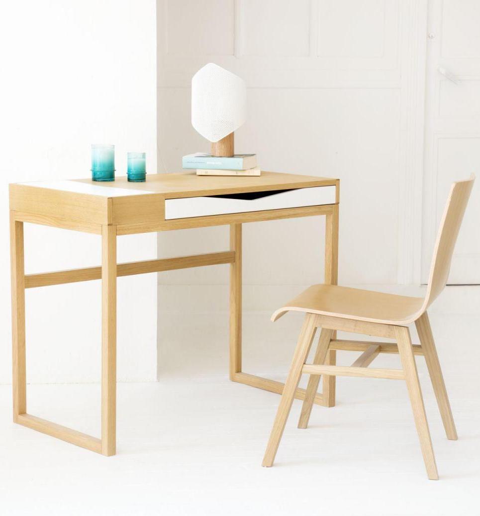 bureau faible profondeur minimaliste nordique - blog déco - clem around the corner