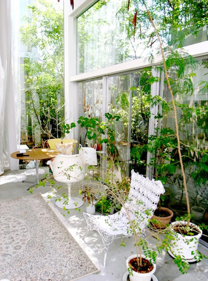 house a de ryue nishizawa jardin terrasse outdoor bureau pierre arbres plantes vertes - blog déco - clem around the corner