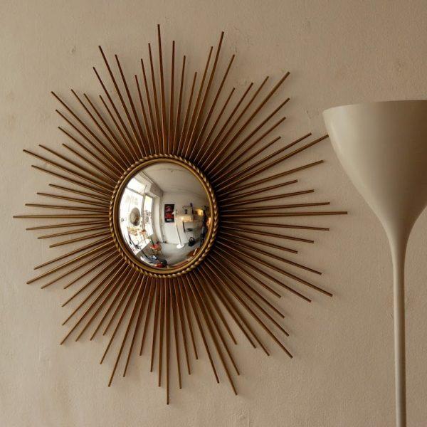 miroir soleil chaty vallauris oeil sorcière terracotta - blog déco - clem around the corner