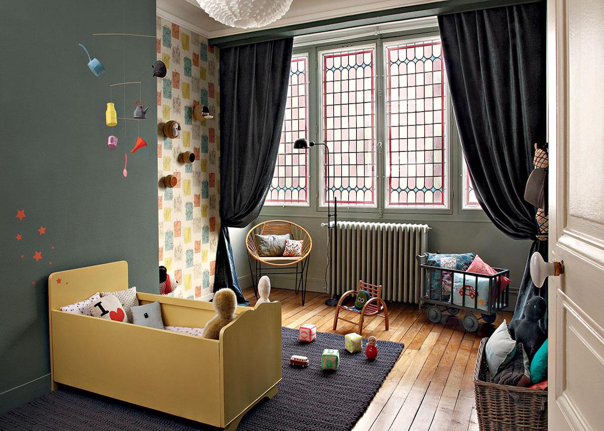 Quelle Couleur Chambre Bébé Garçon une chambre enfant kaki pour un univers doux - clem around