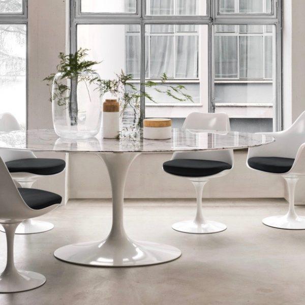 icône design la table tulipe par eero saarinen architecte designer décoration intérieure - blog déco - clemaroundthecorner