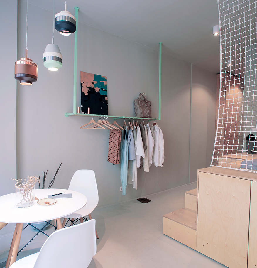 blog déco appartement hongrois voyage suspension design contemporain cuivré ambiance scandinave