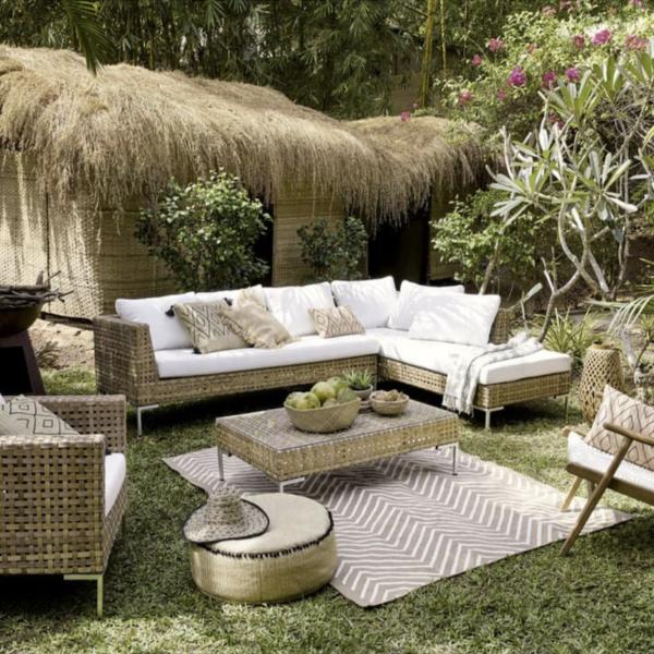 où trouver un tapis d extérieur terrasse jardin - blog déco - clemaroundthecorner