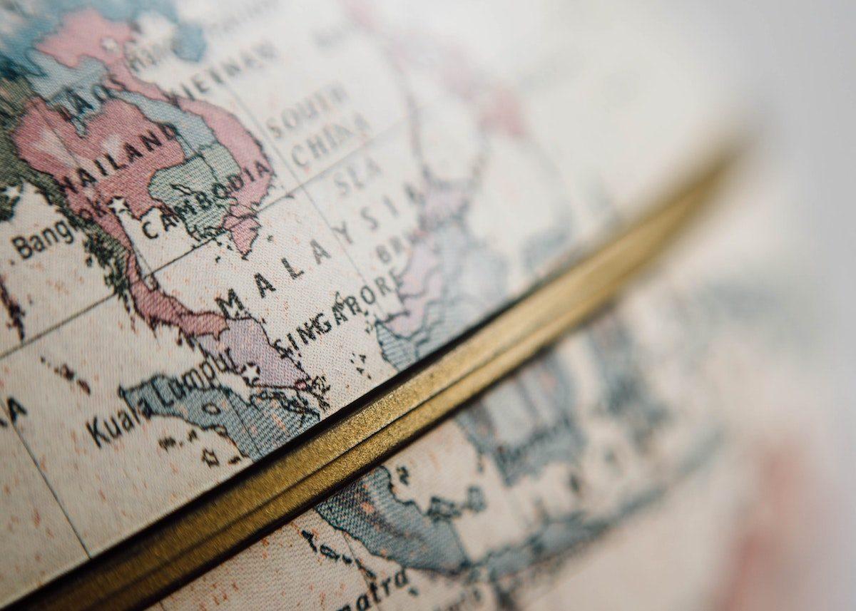 10 idées déco pour un mariage thème voyage globe trotteur - blog déco - clemaroundthecorner