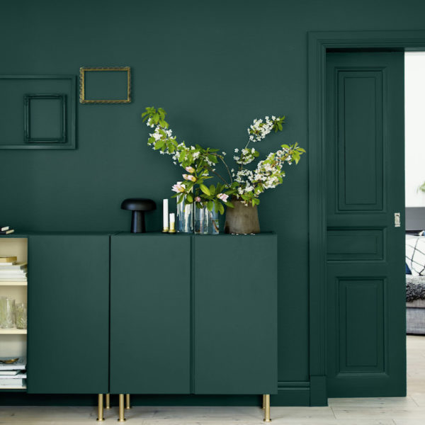 vert sapin meuble hall entrée moderne blog déco