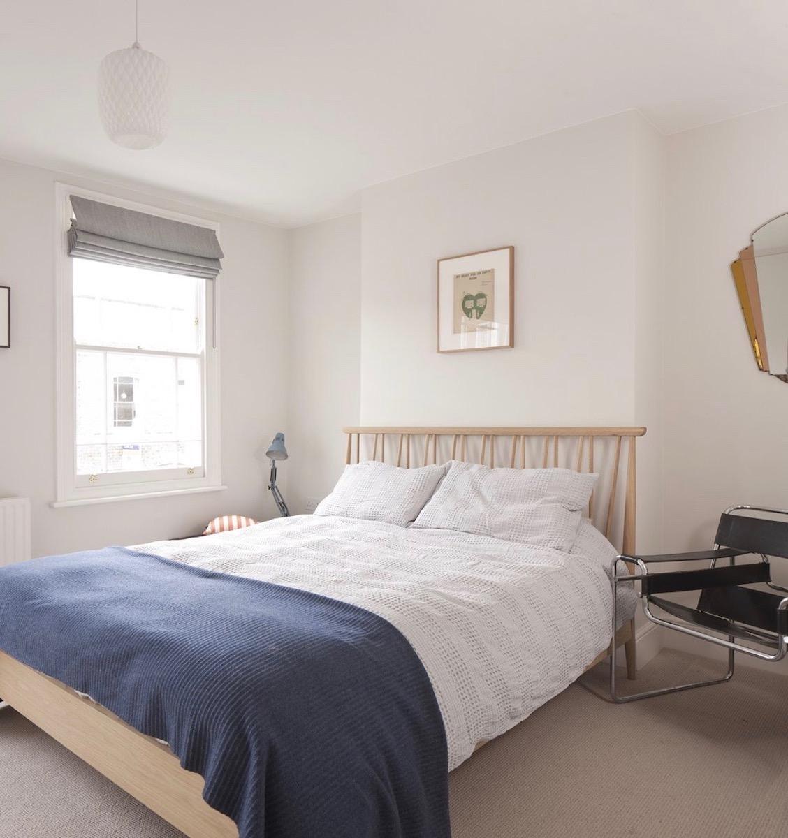 chambre après rénovation maison londonienne design tendance spacieuse déco décoration intérieure clematc