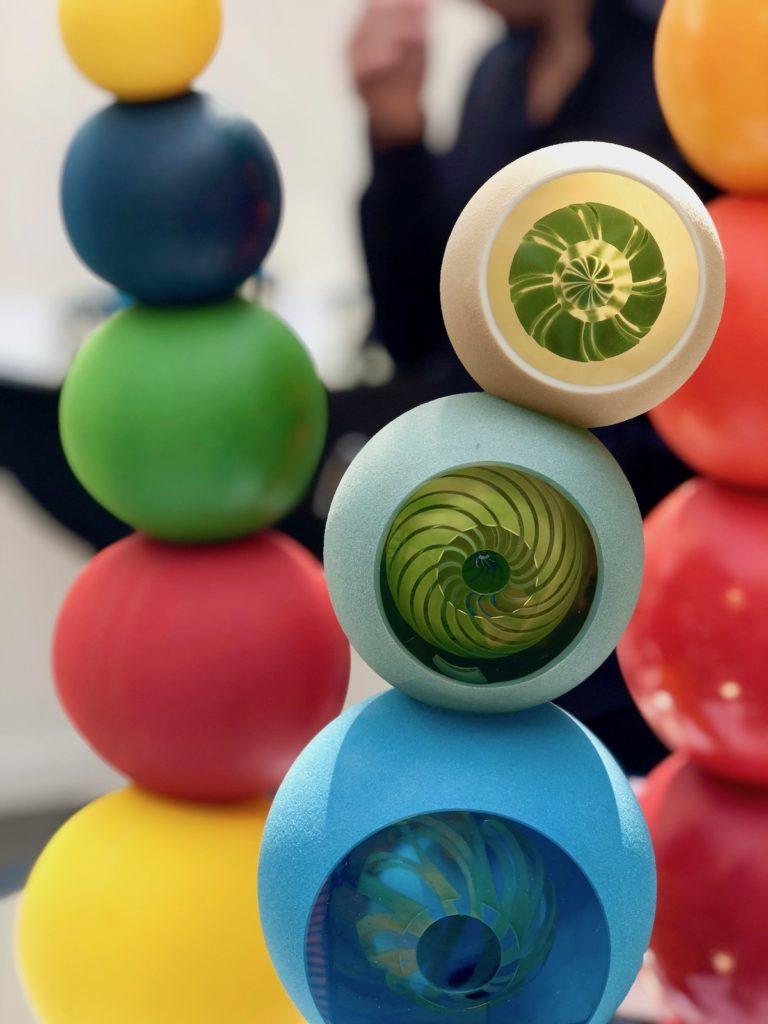 sculpture abysse pascale seil verre souffle salon revelations edition 2019