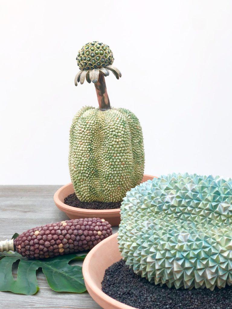 decoration inspiration sculpture Durian kaori kurihara - blog deco - clem around the corner