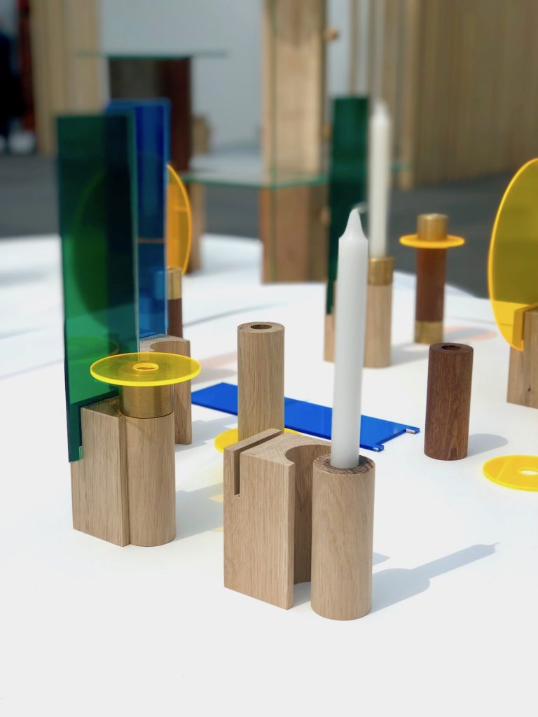 bougeoirs bois design diy craft artisan moderne plastique recycle